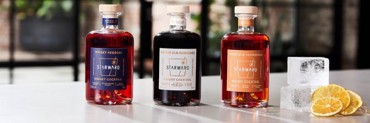 Starward cocktails