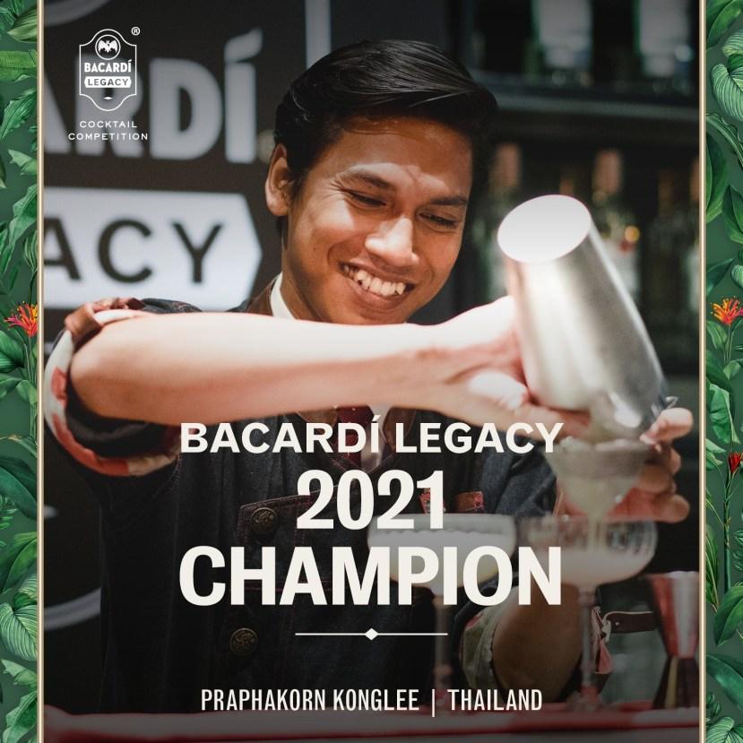 Bacardi Legacy 2021 Champion Bartender