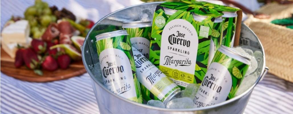 Jose Cuervo Margarita cans