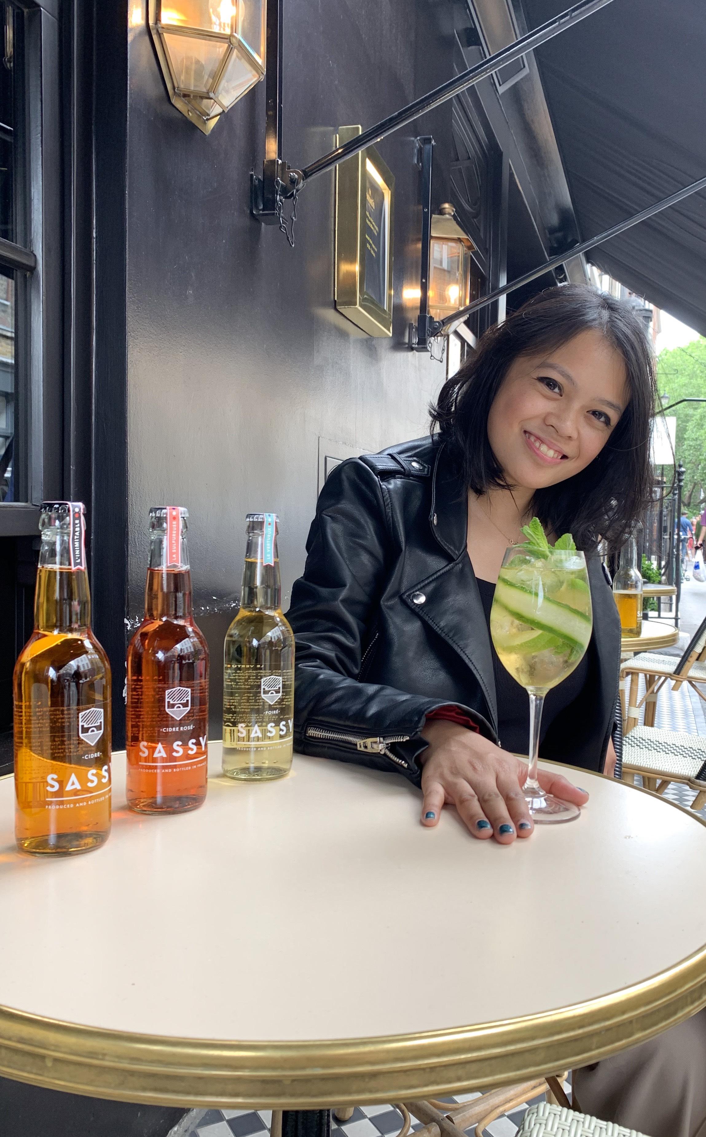 Drinks with Kirsten Jarin (UK Brand ambassador for Maison SASSY)