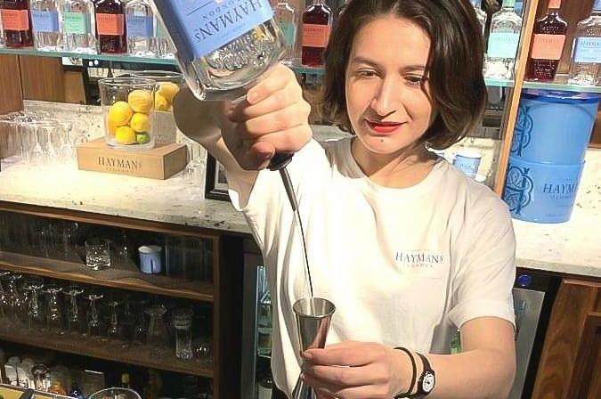Drinks with Sarah Ben Saoud (Bartender)
