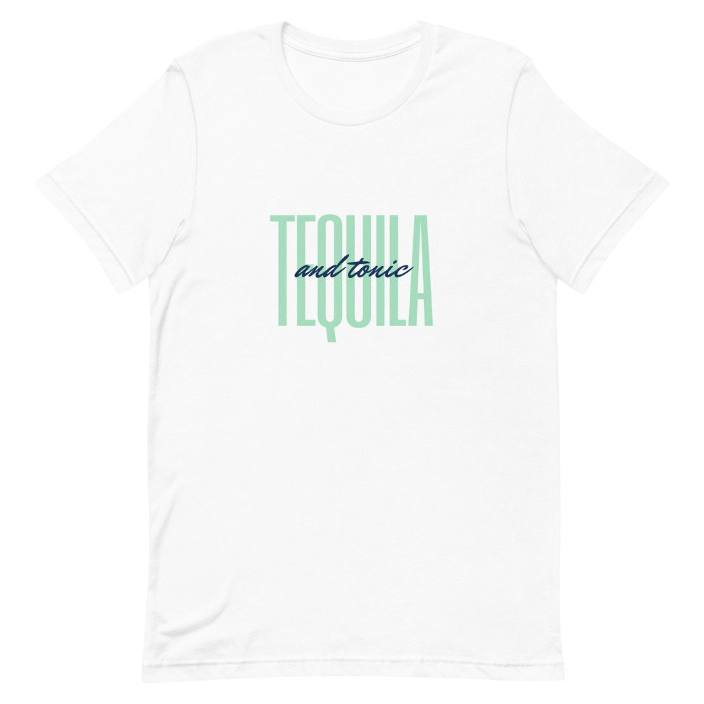 tequila & tonic cocktail t-shirt