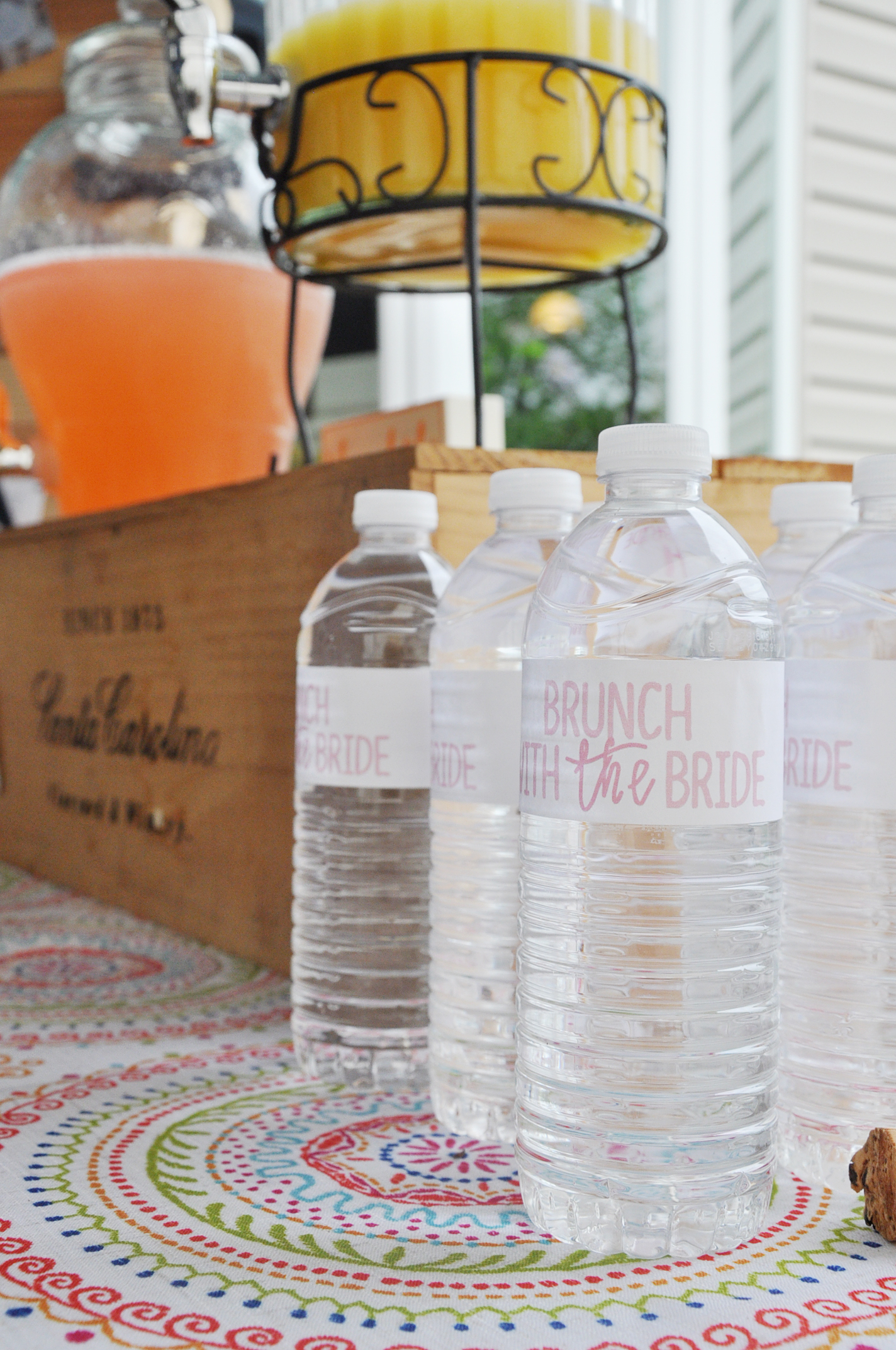 Rustic Blush Bridal Shower | Drink the Day