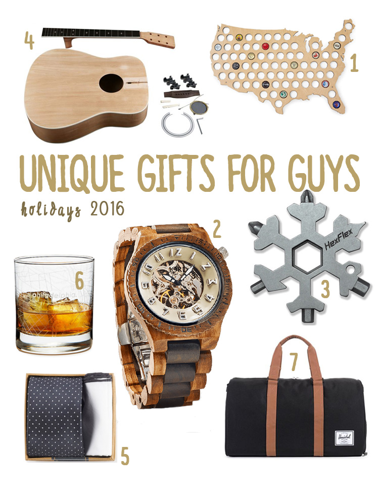 2016 Holiday Gifts for Guys | Drink the Day