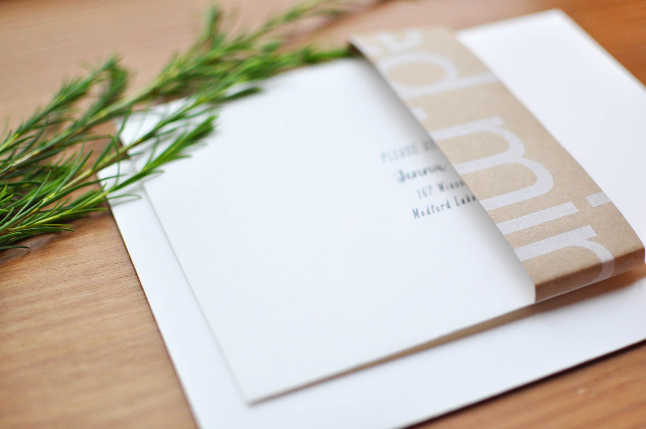 Garden Bridal Shower Invitations with Minted | Drink the Day
