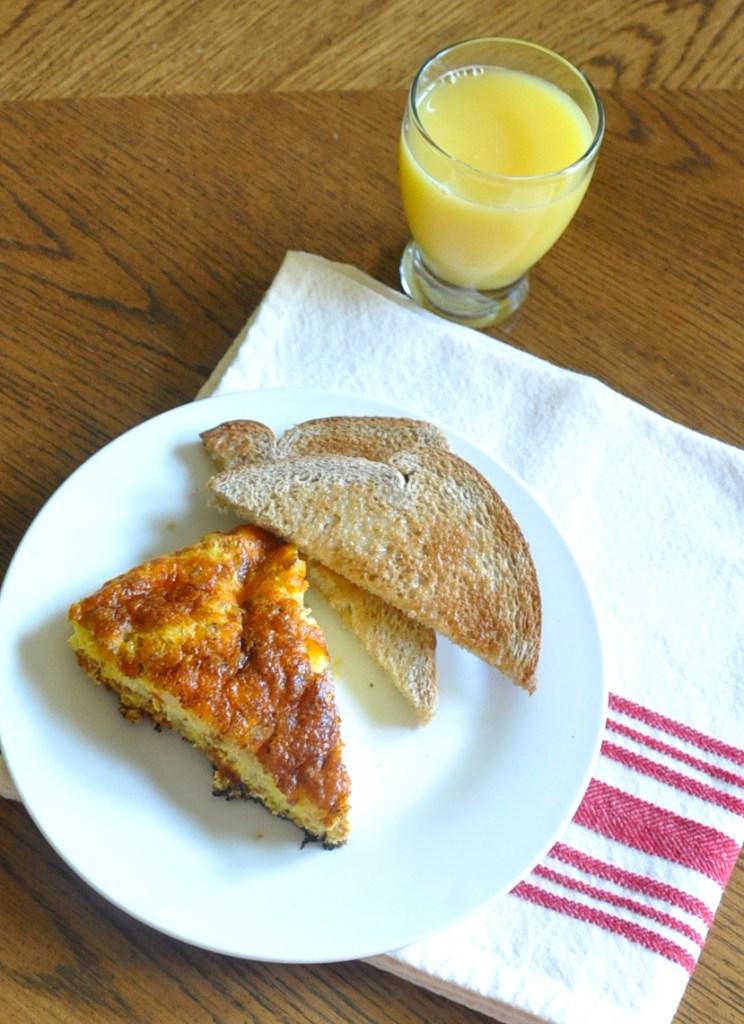 Cast Iron Chorizo & Cheddar Frittata | Drink the Day