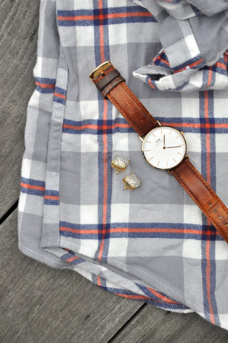 Flat Lay Friday | The Perfect Flannel - Drink the Day
