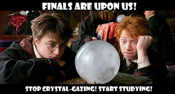Finals are Here!