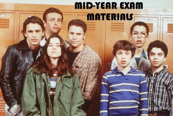 Mid-Year Exam Materials