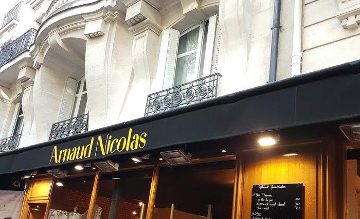 arnaud nicolas restaurant mof