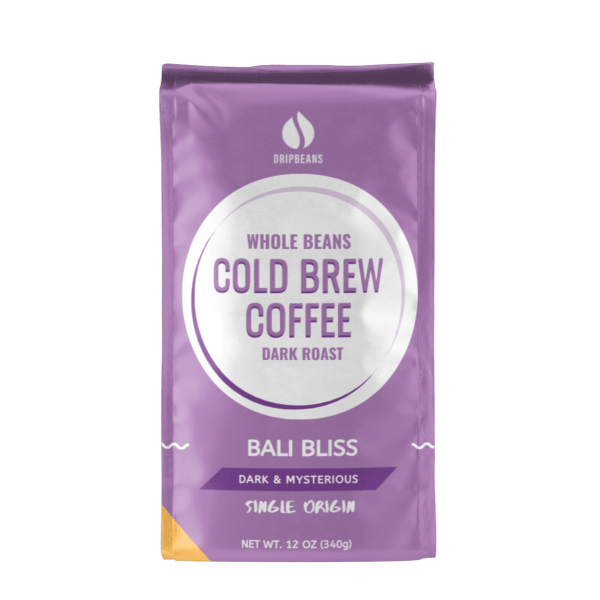 Whole Beans Bali Bliss from DripBeans - Whole Beans 12oz