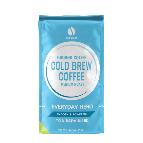 Cold Brew Coffee . Everyday Hero (ground coffee)