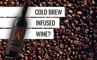 Cold Brew Infused Red Wine