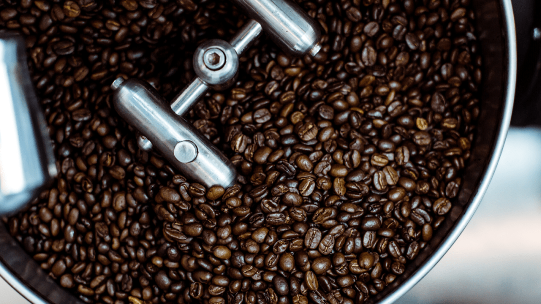 Coffee is a labor intensive process - coffee beans cooling