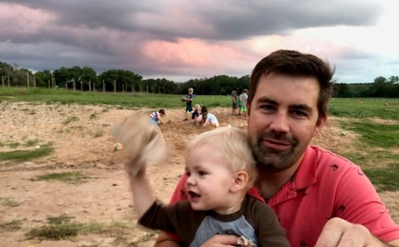 Jester King brewery and restaurant with sandbox, family friendly brewery