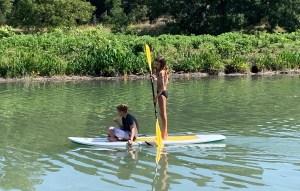 Boat rental available at Cypress Falls Swimming Hole