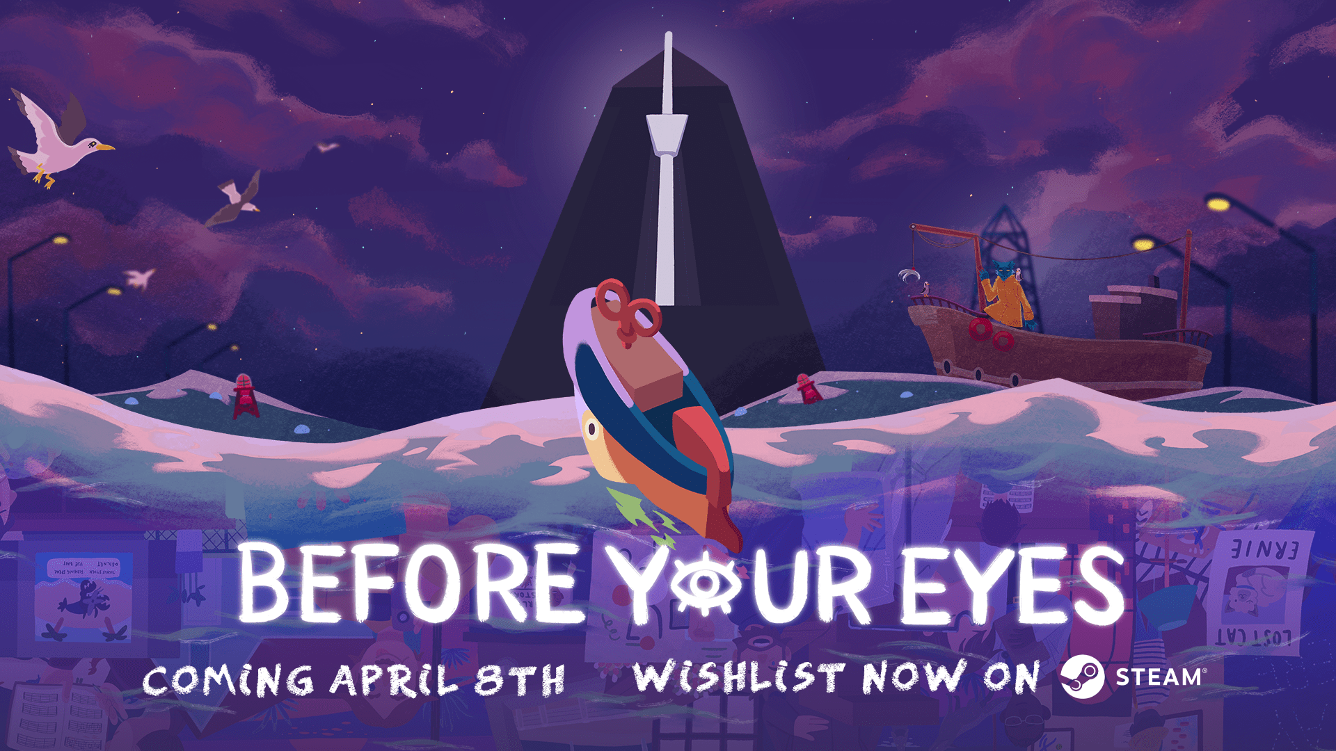 Before Your Eyes Poster