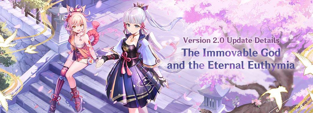 A header for Genshin Impact 2.0.