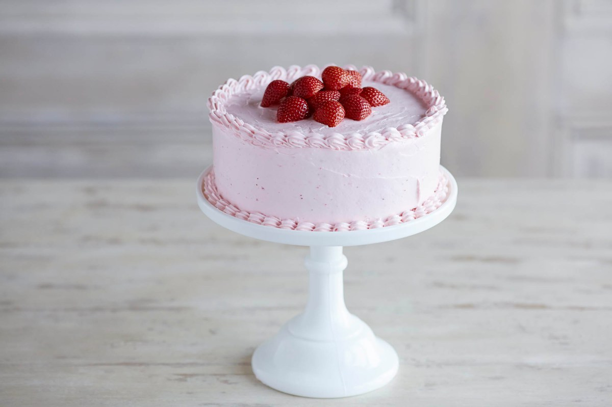 Fresh Strawberry Cake Recipe Driscolls