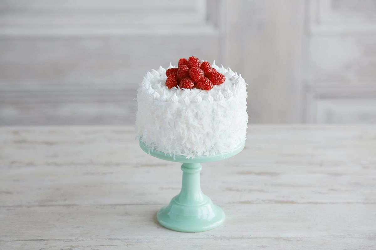 Raspberry Coconut Mini Cake