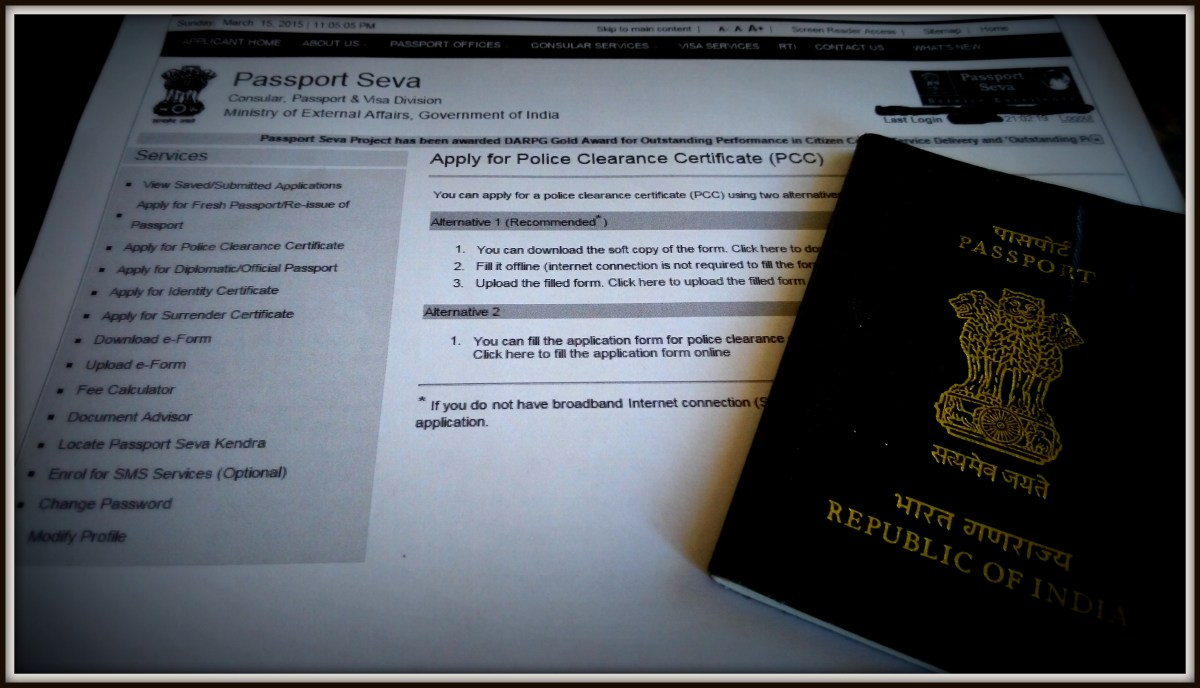 Passport Seva Services for Police Clearance Certificate: What a Delightful Experience!
