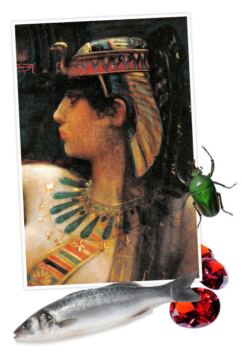 Cleopatra and her lipstick ingredients