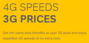 4G at 3G prices