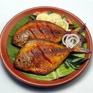 FIsh fry in South Indian style