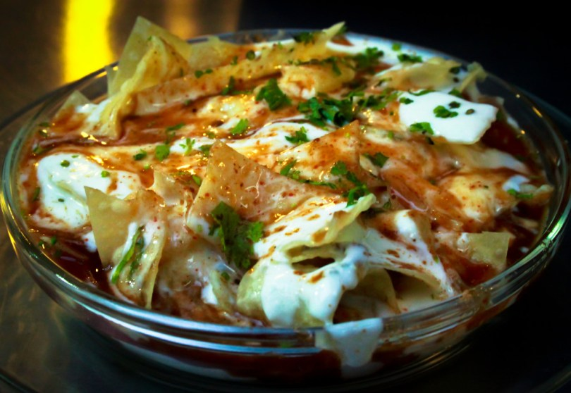 Indian Food - papdi chaat