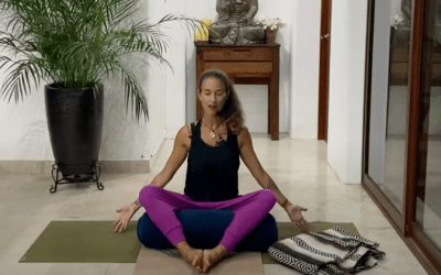 40min Therapeutic Yoga to Help with Pain Management- (English)