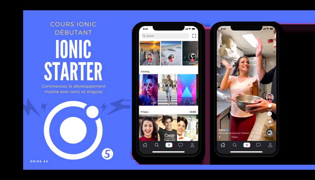 Commencez le développement mobile avec Ionic et Angular