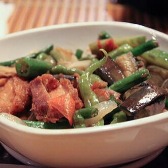Pinakbet with Bagnet