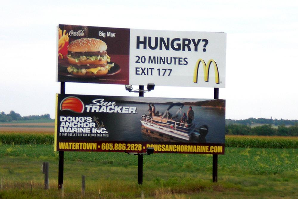 DBS - i-29 - Toronto - McDonald's & Doug's Anchor Marine