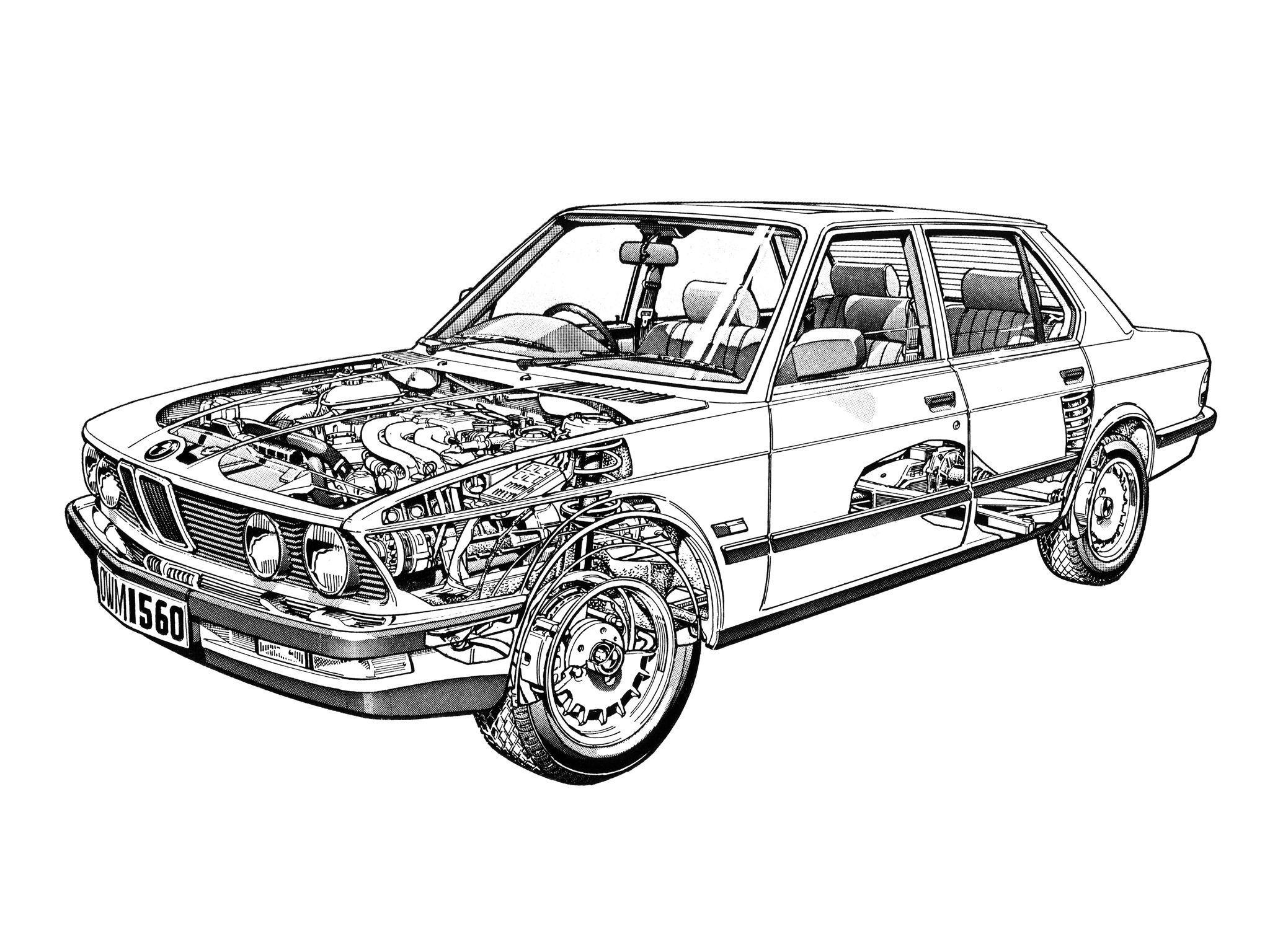 Group Test Audi 100cd C3 Vs Bmw 525e E28 And Ford Granada 2 8gl Mark Ii Saab 900 Turbo