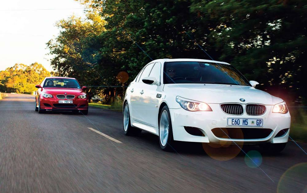 medium resolution of bmw m5 smg e60 against an example e60 m5 that s been converted to a six speed manual