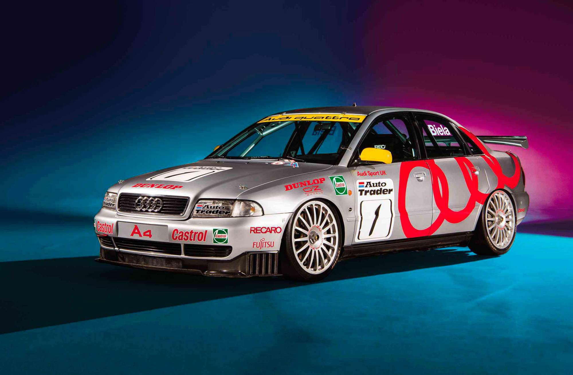 hight resolution of anatomy of a super touring car 1996 audi a4 quattro b5