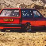Bagged Volkswagen Polo Mk2 Breadvan Running 200bhp Tuned Supercharged G40 Drive My Blogs Drive