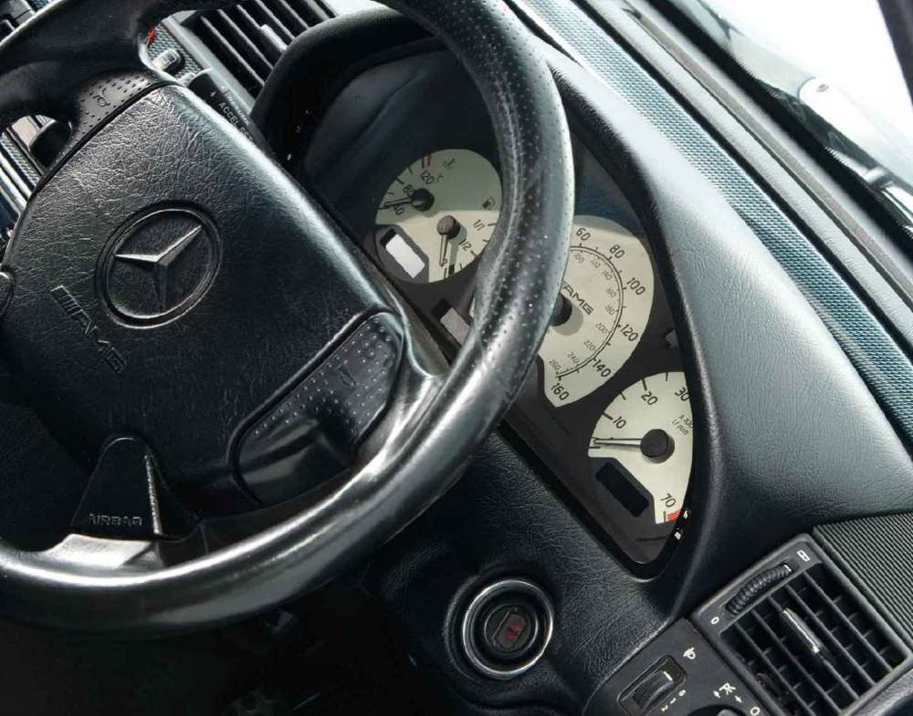 medium resolution of interior mercedes benz c36 and c43 amg w202
