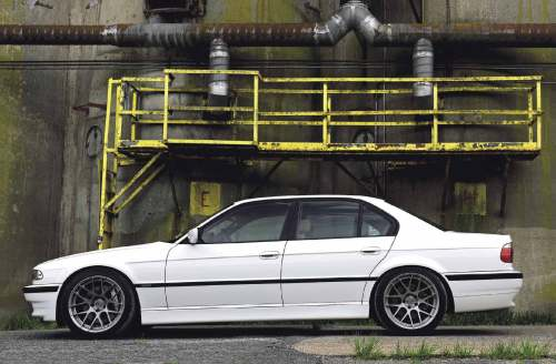 small resolution of bmw 7 series e38 still looks great especially lowered on h r springs smaller 92mm pulley gives more boost maxflow race blow off valve