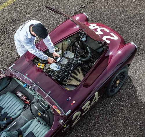 small resolution of 1955 ac ace testing the newly restored ex mille miglia car