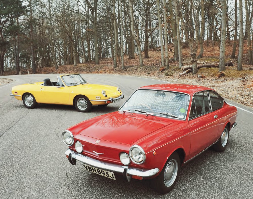 medium resolution of  omparison test drive fiat 850 spider and coupe entry level sportscars from the 1970s