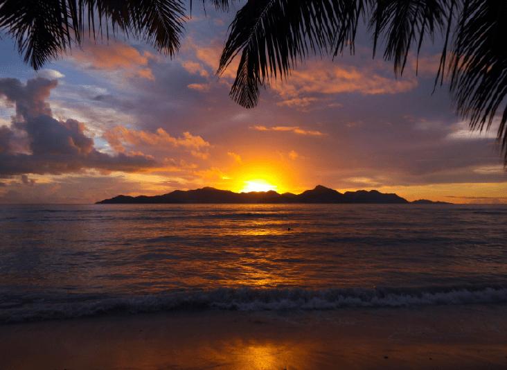Tramonto Seychelles
