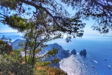 Trekking a capri