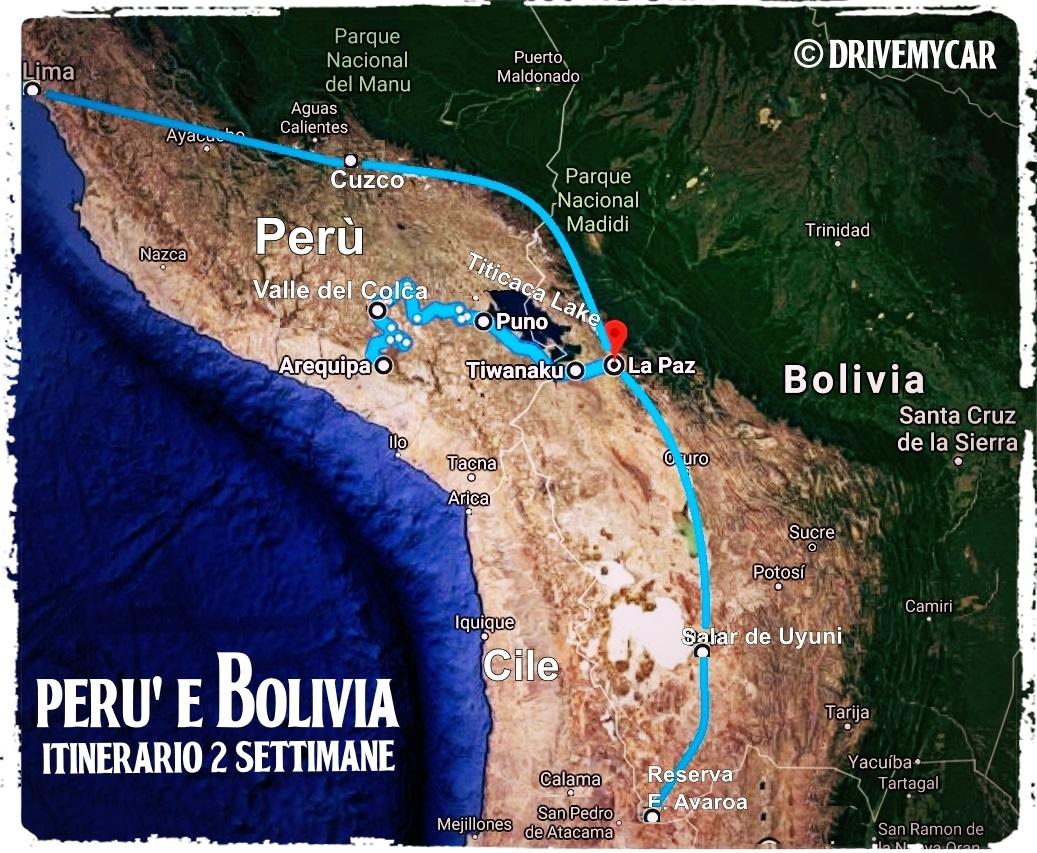 Perù e Bolivia: dal Machu Picchu al Salar de Uyuni Drive