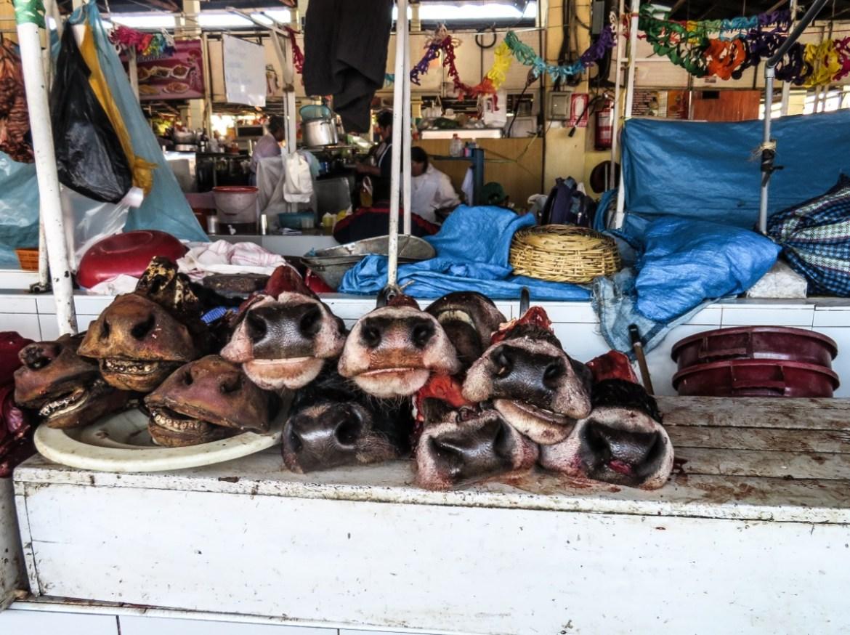 cosa vedere al mercato San Pedro Cusco