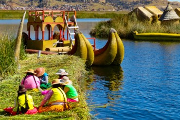 Titicaca isole galleggianti