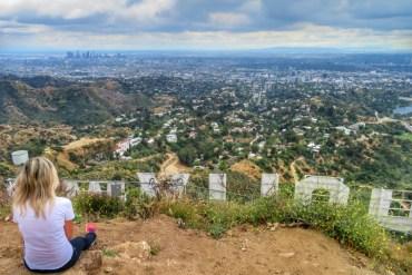 Come arrivare alla scritta Hollywood