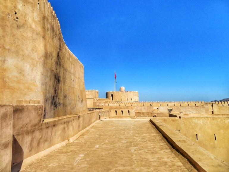 forti del rustaq loop