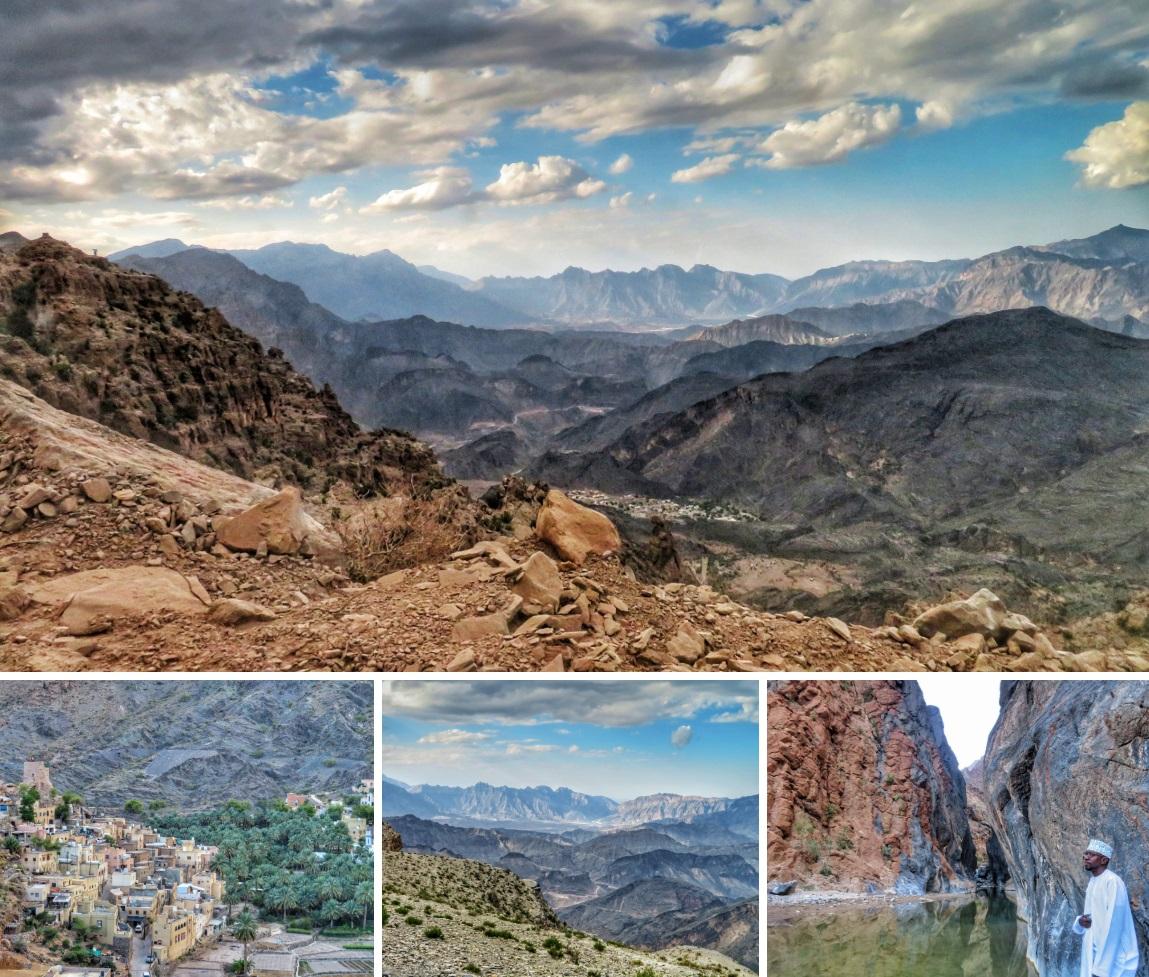 Esplorare un wadi in Oman