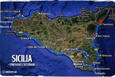 itinerario sicilia due settimane